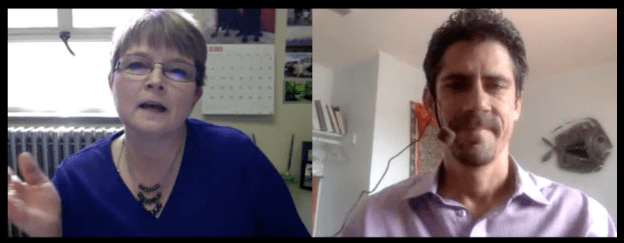 Max Freund Interviewing Debra Beck
