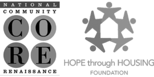 National CORE and Hope Housing Logos