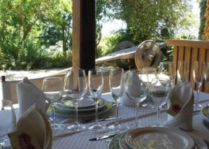Dining Table at Casa Caxigueiro