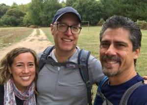 Max, Cynthia, and a traveling companion